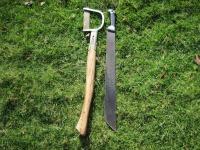 machete weedling tool